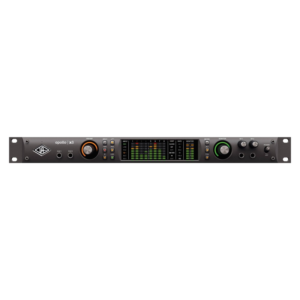 UNIVERSAL AUDIO APOLLO X8 Interfaccia audio Thunderbolt 3, 18 x 24 I/O,