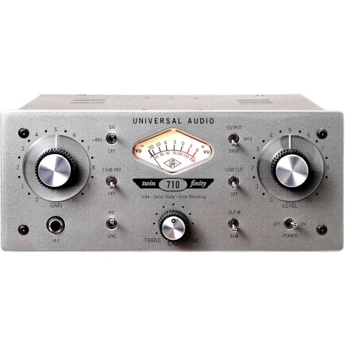 UNIVERSAL AUDIO 710 TWIN FINITY Preamplificatore microfonico