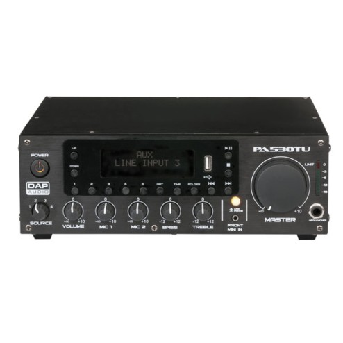 'DAP-Audio PA-530TU Amplificatore 30W 100V'