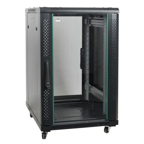 "'DAP-Audio 19"" Server Rack Glass Door Rack server da 19\"", porta in vetro, 22 unità'"