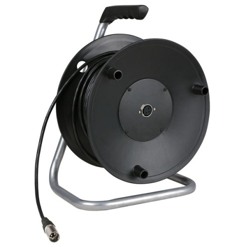'DAP-Audio Cabledrum with 50m microphone cable '