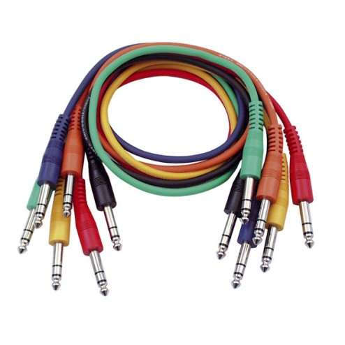 DAP-Audio FL1290 6 cavi patchcord colorati da 90 cm