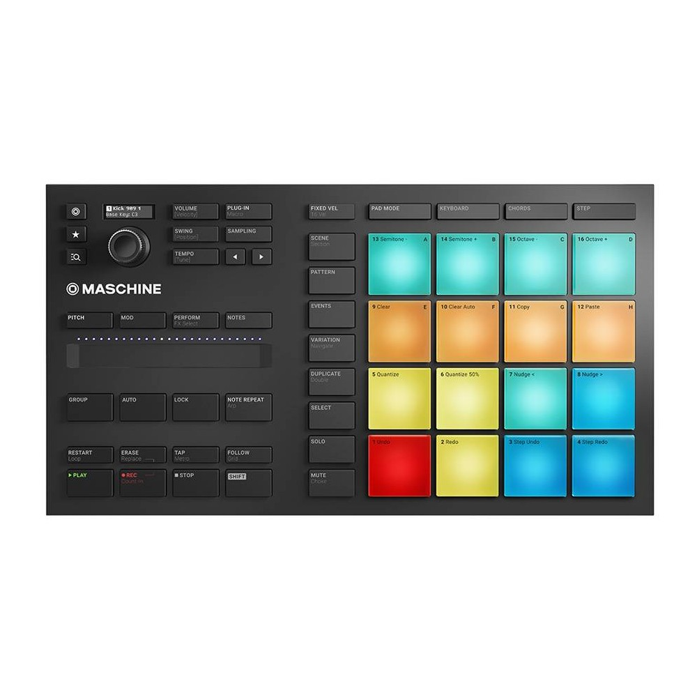 NATIVE INSTRUMENTS MASCHINE MIKRO MKIII Groove production studio