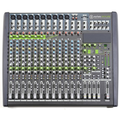 ANT ANTMIX 16FX USB Mixer a 16 canali