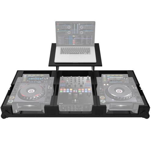 ZOMO SET-2009 PLUS NSE Flightcase per 1 DJM-S9, 2 CDJ-2000 NXS e Laptop