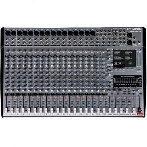 PHONIC AM 2442 FX Mixer a 24 canali