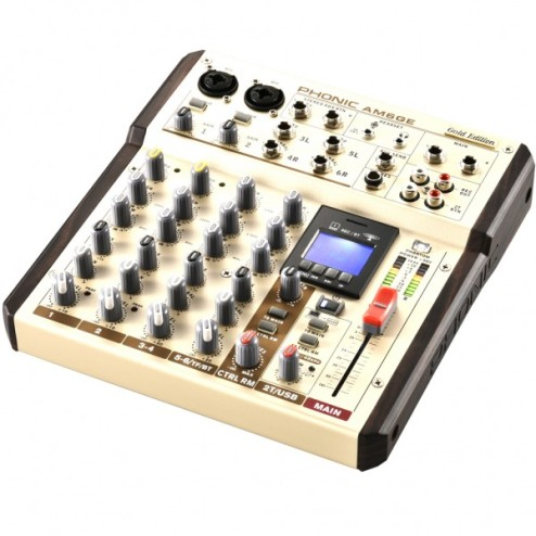 PHONIC AM 6 GE Mixer a 6 canali