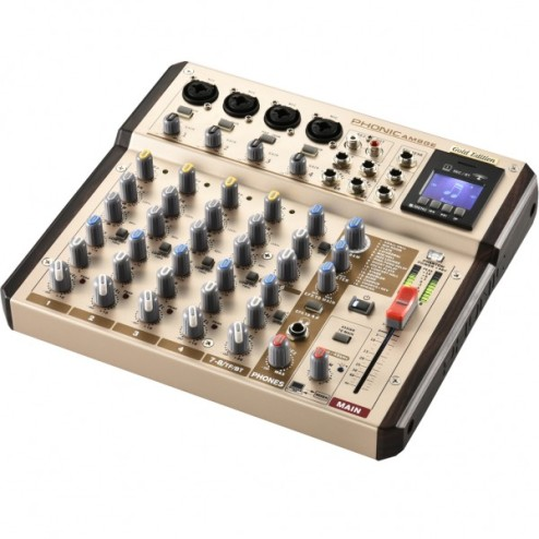 PHONIC AM 8 GE Mixer a 8 canali