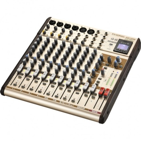 PHONIC AM 12 GE Mixer a 12 canali con bluetooth