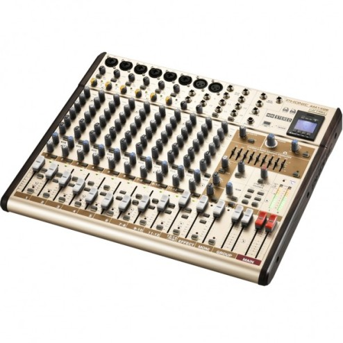 PHONIC AM 14 GE Mixer audio a 14 canli con bluetooth