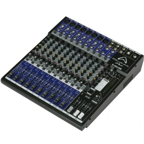 WHARFEDALE PRO SL 824 USB Mixer a 12 canali