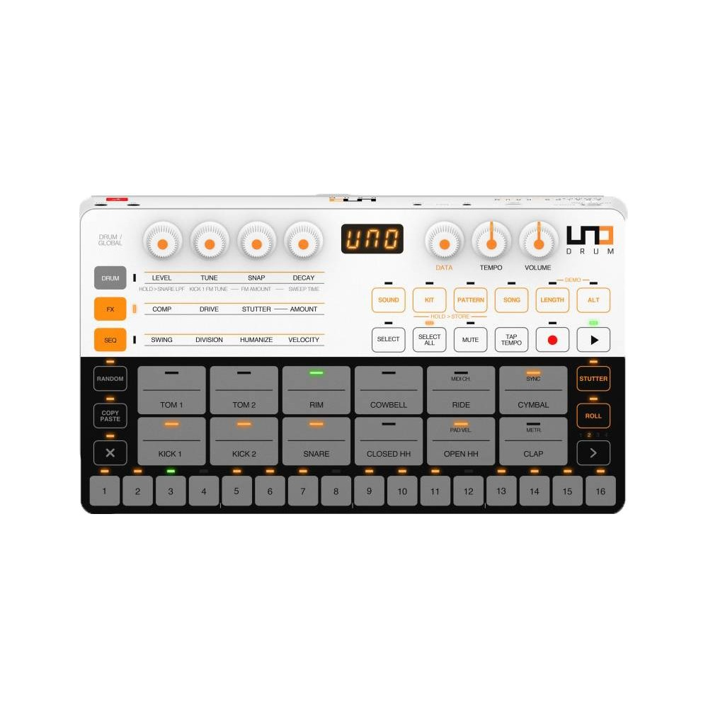 IK MULTIMEDIA UNO DRUM Drum machine analogica