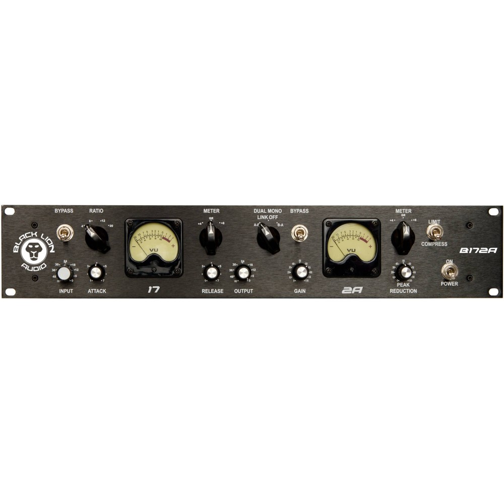 BLACK LION AUDIO B172A Compressore ibrido F.E.T. e OPTO