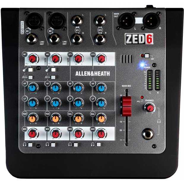 ALLEN & HEATH ZED 6 Mixer analogico