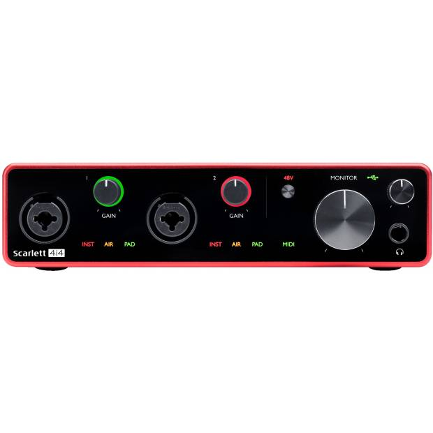 FOCUSRITE SCARLETT 4i4 3RD GEN Interfaccia audio USB C 4-in, 4-out