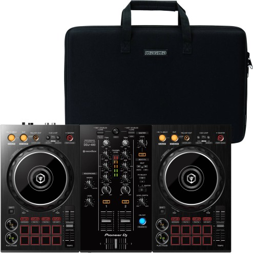 PIONEER DDJ-400 CON BAG BUNDLE