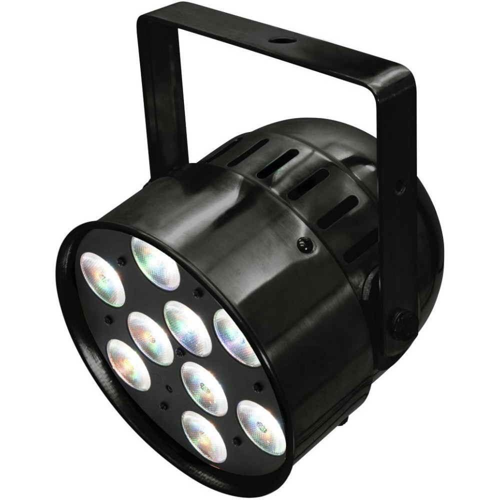 EUROLITE LED PAR-56 QCL SHORT BK Faro LED RGBW
