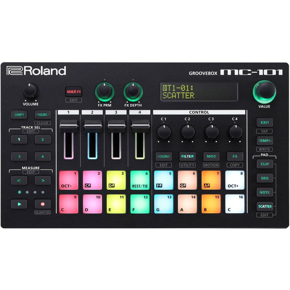 ROLAND MC-101 Groovebox a 4 tracce