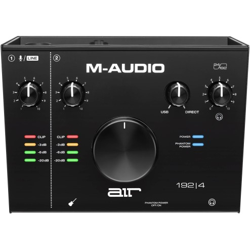 M-AUDIO AIR 192|4 Interfaccia audio usb audio/midi con 2 in 2 out