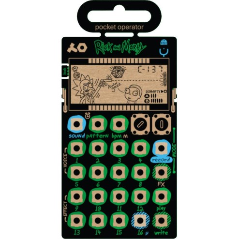 TEENAGE ENGINEERING PO-137 RICK AND MORTY Sintetizzatore/sequencer
