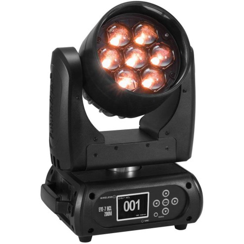 FUTURELIGHT EYE-7 HCL Testa mobile LED wash