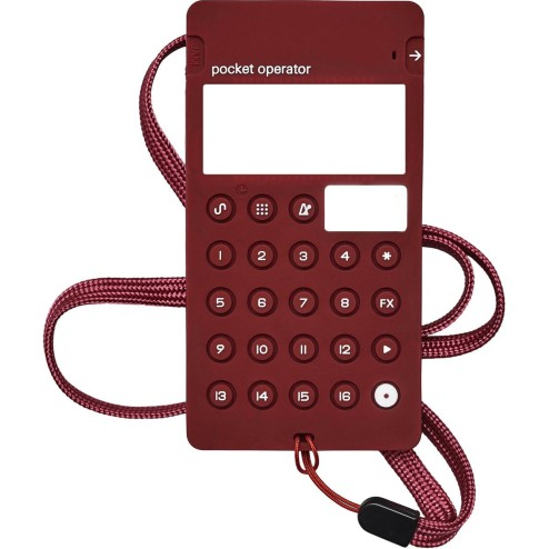 TEENAGE ENGINEERING CA-X BURGUNDY Custodia per serie PO di colore burgundy