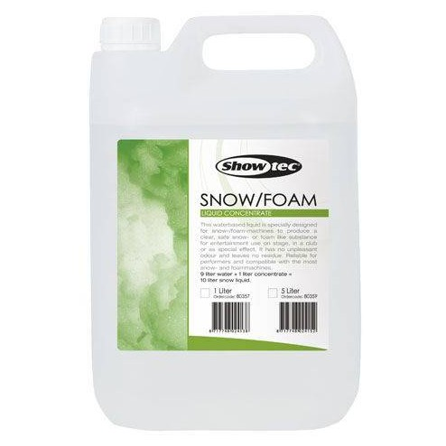 SHOWTEC SNOW/FOAM LIQUID 5L Liquido della neve