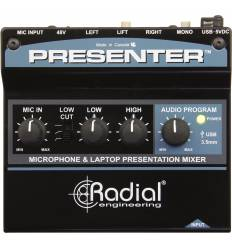 RADIAL ENGINEERING PRESENTER Mixer/preamplificatore microfonico