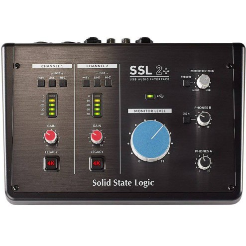 SOLID STATE LOGIC SSL 2+ Interfaccia audio USB a 2 canali