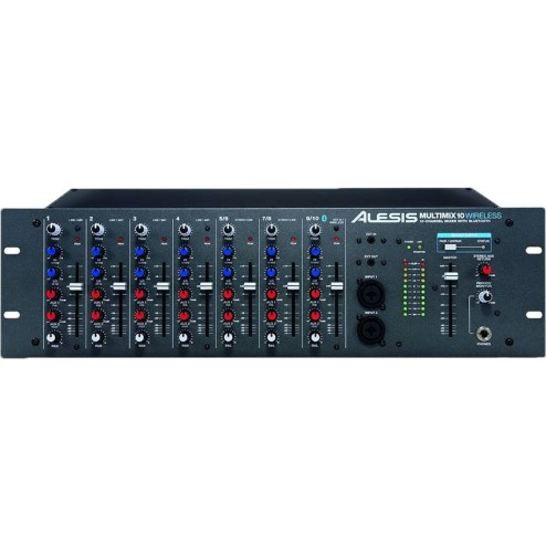 ALESIS MULTIMIX10 WIRELESS Mixer a 7 canali con bluetooth