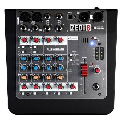 ALLEN & HEATH ZEDi 8 Mixer con interfaccia audio