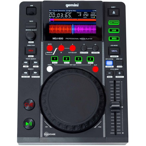 GEMINI MDJ 500 MIDI media player