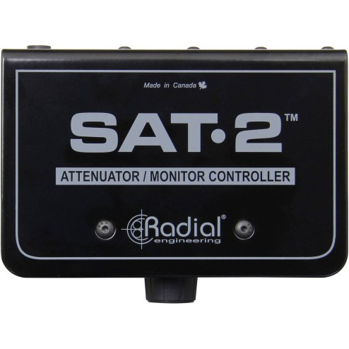 RADIAL ENGINEERING SAT-2 Stereo Audio Attenuator e Monitor Controller