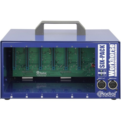 RADIAL ENGINEERING SIXPACK Lunchbox a 6 slot