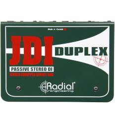 RADIAL ENGINEERING JDI DUPLEX DI box passiva stereo
