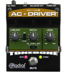 RADIAL ENGINEERING AC-DRIVER Preamplificatore a pedale per strumenti acustici