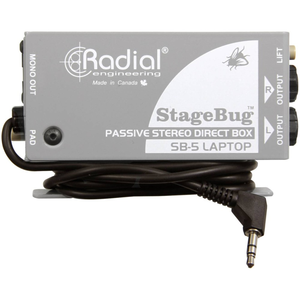 RADIAL ENGINEERING STAGEBUG SB5 DI box passiva per laptop