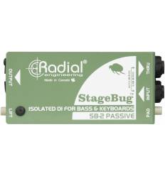 RADIAL ENGINEERING STAGEBUG SB 2 DI box passiva per bassi e tastiere