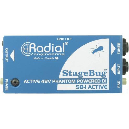 RADIAL ENGINEERING STAGEBUG SB-1 DI box attiva per chitarra acustica