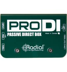 RADIAL ENGINEERING PRODI DI box mono passiva