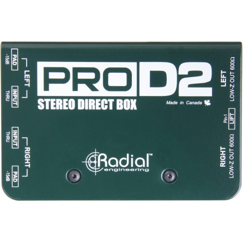 RADIAL ENGINEERING PROD2 DI box passiva a 2 canali