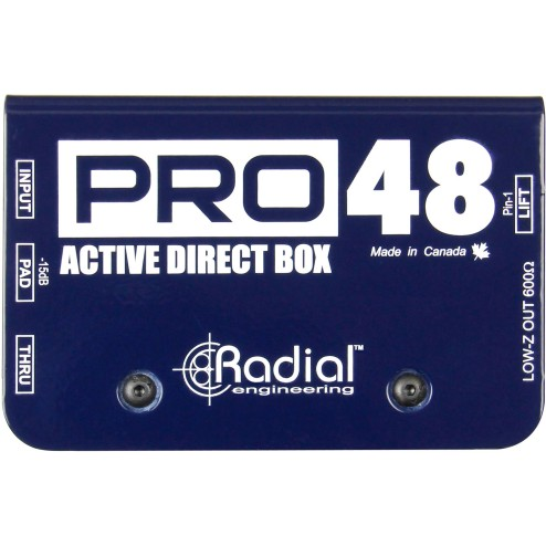 RADIAL ENGINEERING PRO48 DI box attiva