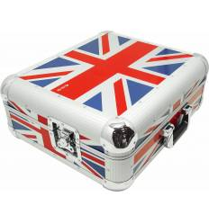 ZOMO FLIGHTCASE SL-12 XT Flightcase per Technics SL-1200/SL-1210 UK-Flag 0030101383