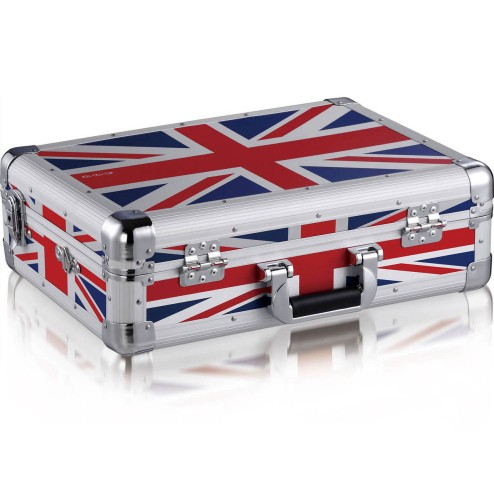 ZOMO MFC-6000 Flightcase per Denon DN-MC6000 MKII UK-Flag 0030102546