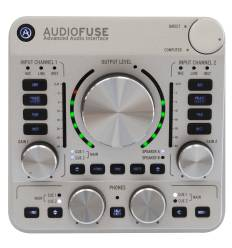 Arturia Audiofuse Deep Black Scheda Audio 14 in/out