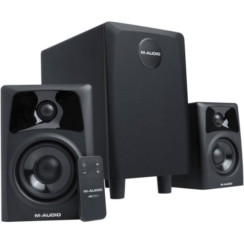 M-AUDIO AV32.1 Sistema di monitor audio 2.1 attivo