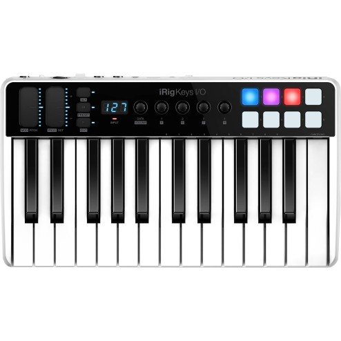 IK MULTIMEDIA IRIG KEYS I/O 25 Master keyboard a 25 tasti