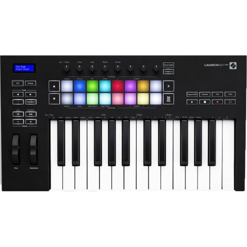 NOVATION LAUNCHKEY 25 MK3 Tastiera MIDI a 25 tasti
