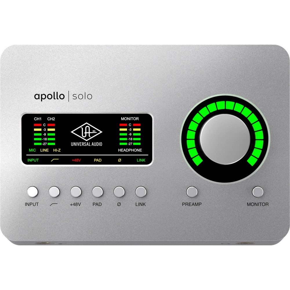 UNIVERSAL AUDIO APOLLO SOLO Interfaccia Audio 2 x 4 Thunderbolt 3