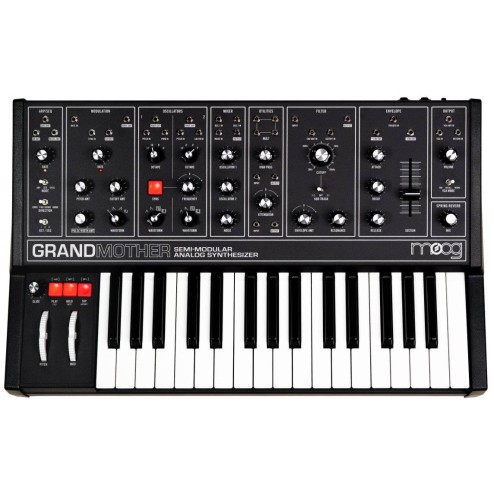 MOOG GRANDMOTHER DARK Sintetizzatore analogico semi-modulare